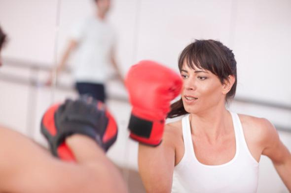 sport feminin boxe